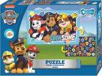Mancs Őrjárat kétoldalas puzzle 50 db-os