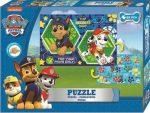 Mancs Őrjárat kétoldalas puzzle 99 db-os