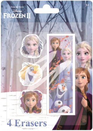 Disney Eiskönigin Radiergummi-Set (4 Stück)
