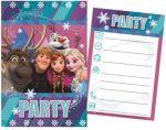 Disney Eiskönigin Party Einladungkarte