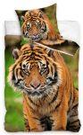 Tiger Bettwäsche 160×200cm, 70×80 cm