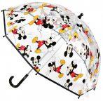 Disney Mickey Durchschaubar Kind Regenschirm Ø66 cm