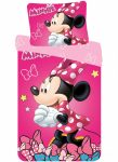 Disney Minnie Bettwäsche 140×200 cm, 70×90 cm