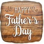 Happy fathers day FolienLuftballon 43 cm