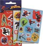 Spiderman Holographische Aufkleber einstellen