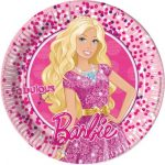 Barbie Magic Papier Platte (8 Stücke) 23 cm
