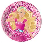 Barbie Magic Papier Platte (8 Stücke) 20 cm