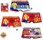 Fireman Sam Kind Unterhose (boxer) 2 Stück/Paket