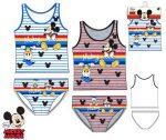 Disney Mickey Kind Trikot + Unterhose set 2-8 Jahr