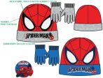 Spiderman Kind Mütze + Handschuhe Set