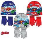 Avengers Kind Mütze + Handschuhe Set