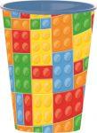 Bricks Plastikbecher 260 ml