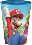 Super Mario Trinkglas Plastik 260 ml