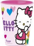 Hello Kitty Trinkglas Plastik 260 ml