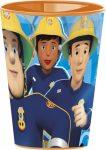 Fireman Sam Trinkglas Plastik 260 ml